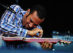 Ben Harper and the Relentless 7 play at the Adelaide Oval.  For Messenger Community News