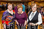 Enjoying the Sliabh Luachra Active Retired  tea dance at the River Island Hotel on Sunday were l-r Maureen Walsh, Margaret Nolan and Maureen Sugrue
