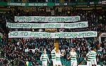 Celtic v St Johnstone...23.01.16   SPFL  Celtic Park, Glasgow<br /> Celtic fans let their feelings be known over facial recogntion camera's at football grounds<br /> Picture by Graeme Hart.<br /> Copyright Perthshire Picture Agency<br /> Tel: 01738 623350  Mobile: 07990 594431