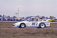 #95 Porsche 935 of Hurley Haywood, Bob Hagestad and Doc Bundy 1978 24 Hours of Daytona, Daytona International Speedway, Daytona Beach, FL, February 5, 1978.  (Photo by Brian Cleary/www.bcpix.com)