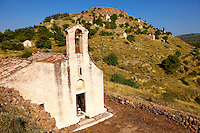 The Greek Orthodox church of Saint Charapampos, Paliachora, Aegina, Greek Saronic Islands