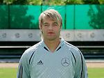 Fussball INTERNATIONAL EURO 2004 Nationalmannschaft ; DFB ; Deutschland, FOTOTERMIN    Timo Hildebrand