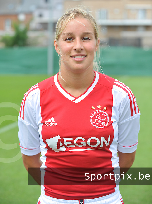 Ajax Amsterdam Dames : Mandy Versteegt .foto DAVID CATRY / Vrouwenteam.be