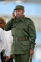 Fidel Castro pictured in Cuba on May 20, 2005. Credit: Jorge Rey/MediaPunch