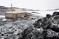 Shackleton's hut at Cape Royds, Antarctica.