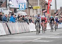 Peter Sagan (SVK/Bora-Hansgrohe) wins the 69th Kuurne-Brussel-Kuurne 2017 (1.HC) in an elite sprint