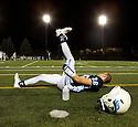 PE00083-00...WASHINGTON - High school football game.