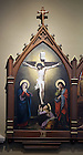 Stations of the Cross in the Basilica of the Sacred Heart.  Station 12...Photo by Matt Cashore..