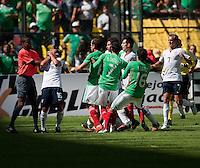 Benny Feilhaber. USA Men's National Team loses to Mexico 2-1, August 12, 2009 at Estadio Azteca, Mexico City, Mexico. .   .