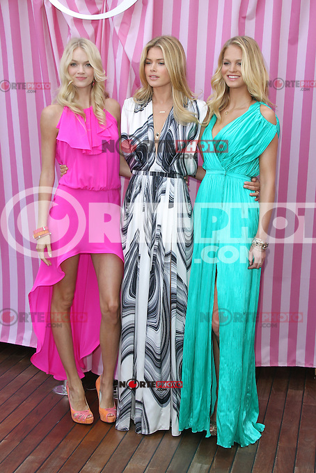 Victoria's Secret Angels Lindsay Ellingson, Doutzen Kroes and Erin Heatherton attend Victoria's Secret Angels Reveal What's Sexy Now at Mr. C Beverly Hills on May 10, 2012 in Beverly Hills, California. © mpi20/MediaPunch Inc.