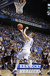 UK guard Jarrod Polson makes a basket during the second half of the men's basketball game against Mississippi State at Rupp Arena in Lexington, Ky. on Saturday, February 27, 2013. Photo by Genevieve Adams