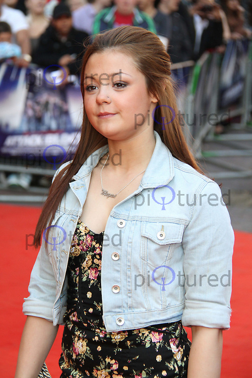 Megan Prescott Attack The Block UK Premiere, Vue Cinema, Leicester Square, London, UK, 04 May 2011:  Contact: Rich@Piqtured.com +44(0)7941 079620 (Picture by Richard Goldschmidt)