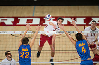 Stanford Volleyball M vs UCLA, February 9, 2017