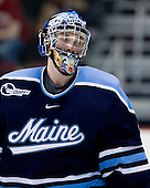 Dave Wilson (Maine - 33) - The Boston University Terriers defeated the University of Maine Black Bears 1-0 (OT) on Saturday, February 16, 2008 at Agganis Arena in Boston, Massachusetts.