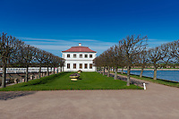 Marly Palace In Peterhof, St. Petersburg, Russia
