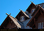 Gables, Old Faithful Inn, National Park Rustic Architecture, Yellowstone National Park, Wyoming