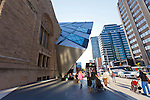 The Royal Ontario Museum (ROM) is a museum of world culture and natural history in Toronto, Ontario, Canada. With its main entrance facing Bloor Street in Downtown Toronto, the museum is situated north of Queen's Park and east of Philosopher's Walk in the University of Toronto. Founded in 1912, the museum has maintained close relations with the university throughout its history, often sharing expertise and resources..Beginning in 2002, the museum went through a major renovation and expansion project, dubbed Renaissance ROM. The centerpiece of the project is a major facility known as the Michael Lee-Chin Crystal, designed by architect Daniel Libeskind whose design was selected from among 50 entrants in an international competition. The design saw the Terrace Galleries torn down and replaced with a Deconstructivist crystalline-form structure, named after Michael Lee-Chin who donated $30 million towards its construction. The Crystal was opened in 2007. Renovated galleries in the historic buildings reopened in stages, and all work was completed by 2010.
