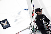 Torvar Mirsky on day 2 of Match Race Germany. World Match Racing Tour. Langenargen, Germany. 21 May 2010.