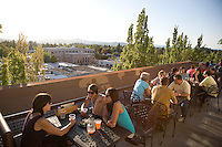 Roof Top Bar at McMenamin's Hotel Oregon in McMinnville