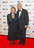 United States Senator Barbara Boxer (Democrat of California) and her husband, Stewart, arrive for the formal Artist's Dinner honoring the recipients of the 39th Annual Kennedy Center Honors hosted by United States Secretary of State John F. Kerry at the U.S. Department of State in Washington, D.C. on Saturday, December 3, 2016. The 2016 honorees are: Argentine pianist Martha Argerich; rock band the Eagles; screen and stage actor Al Pacino; gospel and blues singer Mavis Staples; and musician James Taylor.<br /> Credit: Ron Sachs / Pool via CNP