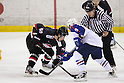 Takuma Kawai (JPN), .MARCH 31, 2012 - Ice Hockey : .Ice Hockey Japan - Korea Exchange Game .between Japan 2-0 South Korea .at DyDo Drink Ice Arena, Tokyo, Japan. .(Photo by YUTAKA/AFLO SPORT) [1040]