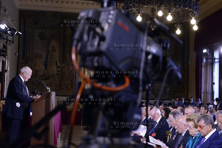Roma, 7 Luglio 2015<br /> Camera dei Deputati<br /> Angelo Marcello Cardani. Confalonieri, Tarantola<br /> Relazione annuale dell'AGCOM<br /> Autorit&agrave; per le garanzie nelle telecomunicazioni.