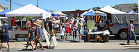 Farmers market June 29, 2009 in Charlottesville, VA. Photo/Andrew Shurtleff.