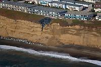 aerial photograph erosion Daly City South San Francisco, San Mateo county, California