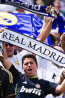 Real Madrid fans. Real Madrid defeated Celtic F. C. 2-0 during a 2012 Herbalife World Football Challenge match at Lincoln Financial Field in Philadelphia, PA, on August 11, 2012.