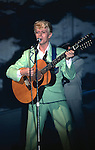 David Bowie performing live at Madison Square Garden in New York - Ju ly 25 , 1983