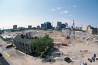 1997 May 06..Redevelopment..Macarthur Center.Downtown North (R-8)..LOOKING SOUTH.FROM FREEMASON GARAGE.SUPERWIDE...NEG#.NRHA#..