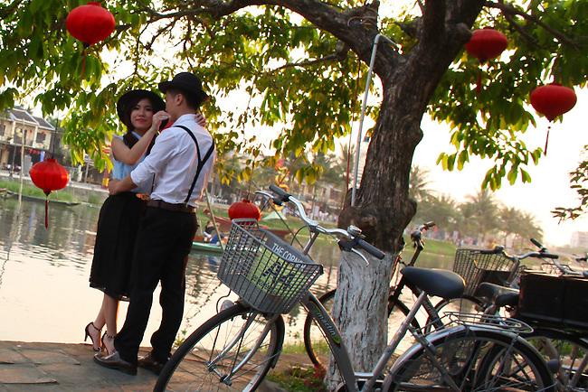 Engagement picture. Hoi An, Vietnam. April 15, 2016.
