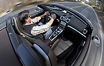 (Boston, MA, 04/13/13) An interior view of the 2013 Porsche Boxster S is seen on Saturday, April 13, 2013. Staff photo by Christopher Evans