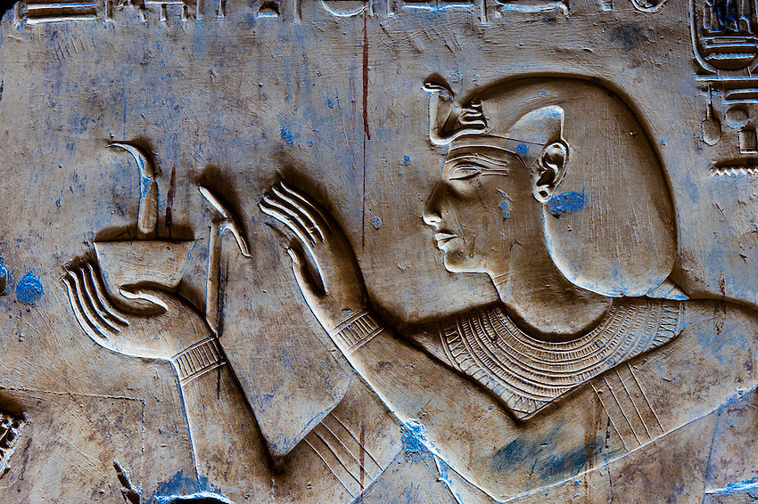 Egypt-Temples at Abydos & Dendera
