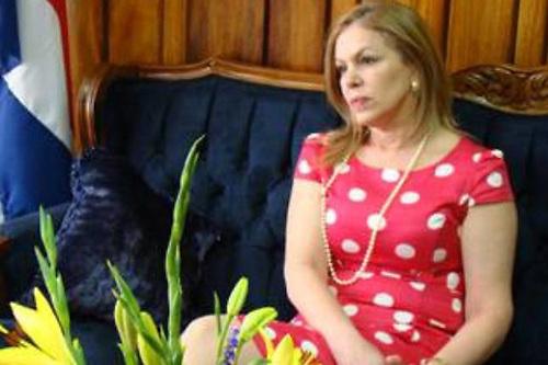 Dra. Ana Virginia Calzada, presidenta de la Sala Constitucional de Costa Rica