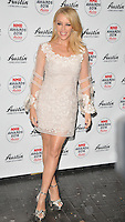 Kylie Minogue attends the NME Awards 2016 with Austin, Texas, O2 Academy Brixton, Stockwell Road, London, UK, on Wednesday 17 February 2016.<br /> CAP/CAN<br /> &copy;CAN/Capital Pictures /MediaPunch ***NORTH AND SOUTH AMERICAS ONLY***