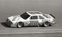 Buddy Baker #88 Oldsmobile action Pepsi Firecracker 400 Daytona International Speedway Daytona Beach FL July 1987 (Photo by Brian Cleary/www.bcpix.com)