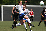 05 September 2009: Duke's Rebecca Allen. The Duke University Blue Devils played the University of Nevada Los Vegas Runnin' Rebels to a 0-0 tie after overtime at Koskinen Stadium in Durham, North Carolina in an NCAA Division I Women's college soccer game.