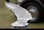 Lalique Crystal Mascot, 1934 Packard Dietrich Convertible Sedan, Pebble Beach Concours d'Elegance