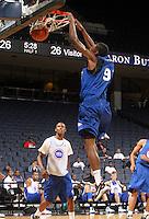 Deuce Bello at the NBPA Top100 camp June 18, 2010 at the John Paul Jones Arena in Charlottesville, VA. Visit www.nbpatop100.blogspot.com for more photos. (Photo © Andrew Shurtleff)