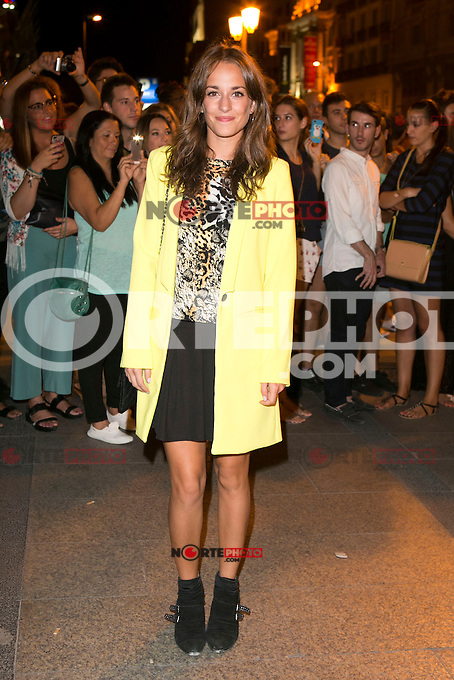 Silvia Alonso attends the party of Nike and Roberto Tisci at the Casino in Madrid, Spain. September 15, 2014. (ALTERPHOTOS/Carlos Dafonte) /NortePhoto.com