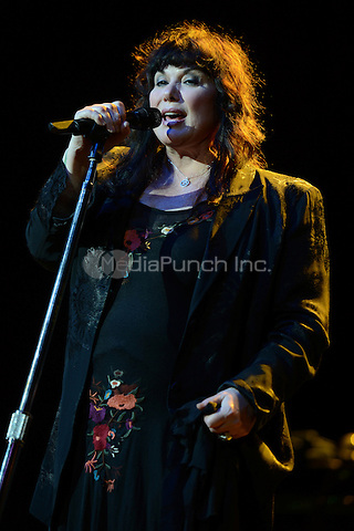 HOLLYWOOD FL - NOVEMBER 4 :  Ann Wilson of Heart performs at Hard Rock live held at the Seminole Hard Rock hotel & Casino on November 4, 2012 in Hollywood, Florida.  Credit: mpi04/MediaPunch Inc.