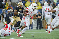 Annapolis, MD - OCT 8, 2016: Houston Cougars quarterback D'Eriq King (4) in action during game between Houston and Navy at Navy-Marine Corps Memorial Stadium Annapolis, MD. The Midshipmen upset #6 Houston 46-40. (Photo by Phil Peters/Media Images International)