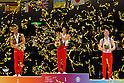 (L to R) Philipp Boy (GER), Kohei Uchimura (JPN), Daniel Purvis (GBR), NOVEMBER 27, 2011 - Artistic Gymnastics : FIG ART World Cup 2011 Tokyo Men's Individual All-Around Victory Ceremony at Ryogoku Kokugikan, Tokyo, Japan. (Photo by YUTAKA/AFLO SPORT) [1040]