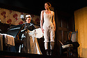 """""""In the Next Room' or """"The Vibrator Play"""" has its UK premiere at the Ustinov Studio Theatre, Bath. Picture shows: Lucy Robinson (Annie) and Flora Montgomery (Sabrina Daldry)."""