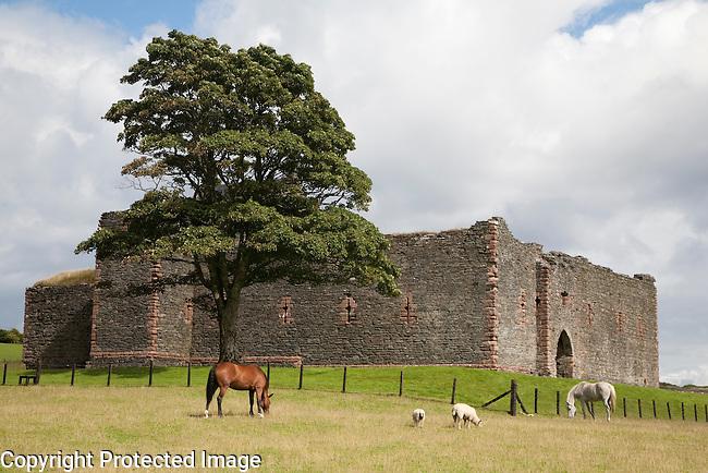 Skipness Castle in Kintyre, Scotland