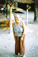 We rented a motorbike and explored some of the rural villages nearby. Cambodia. Pentax Spotmatic. 2004