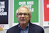 Ken Loach, director of Cathy Come Home launches Left Unity's 2015 manifesto in a Soho squat in Ingestre Court, Ingestre Place, Soho, London, Great Britain <br /> 31st March 2015 <br /> <br /> <br /> Ken Loach <br /> <br /> <br /> <br /> <br /> Photograph by Elliott Franks <br /> Image licensed to Elliott Franks Photography Services