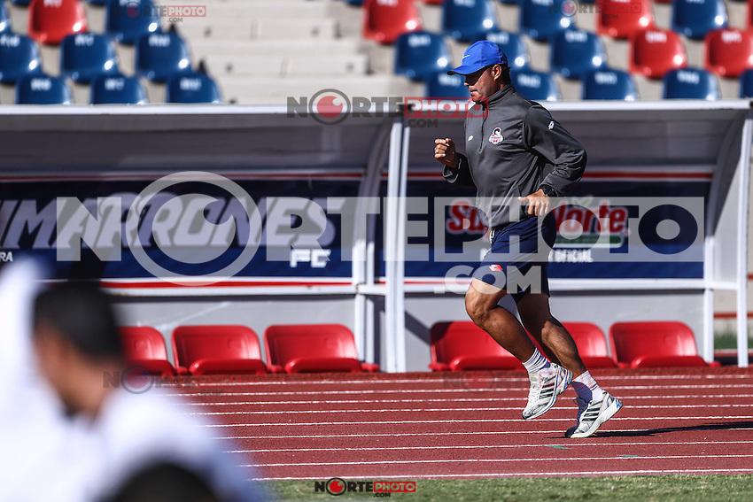 Entrenamiento  de Cimarrones de Sonora, previo al inicio del torneo de Clausura 2017 de la liga de Ascenso y Copa MX<br /> <br /> &copy;Foto: LuisGutierrrez/NortePhoto.com