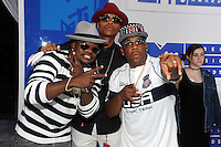 NEW YORK, NY - AUGUST 28:Ricky Bell, Ronnie DeVoe, and Michael Bivins of Bell Biv DeVoe attend the 2016 MTV Video Music Awards at Madison Square Garden on August 28, 2016 in New York City Credit John Palmer / MediaPunch